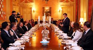 Ottoman Descendants Descendants Of Ottoman Sultans Meet Turkish Fm At Dinner