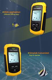 really free finder free shipping portable fish finder sonar sounder alarm transducer