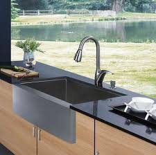 Vigo Kitchen Sinks by Apron Sinks Not Just For A Farmhouse Kitchen