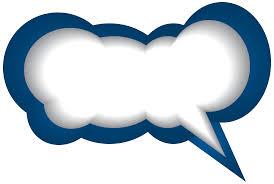 speech bubble blue white png clip art image gallery