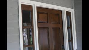 can you use an existing door for a barn door staining your door without stripping stain existing stain or paint