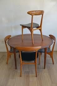 chair round mid century dining table baxton studio flamingo wooden
