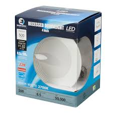 Recessed Lighting Recessed Led 4 Inch Downlight 8 5 Watt Dimmable 50w Equiv 500