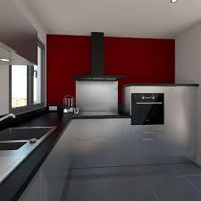 fond de cuisine peinture laquee blanc pour meuble 6 cuisine design tout inox