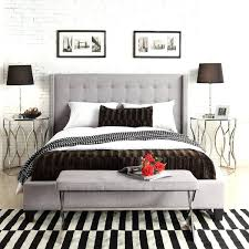Quilted Headboard Bed Grey Upholstered Headboard King Large Size Of King Size