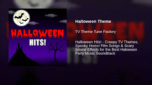 halloween theme youtube
