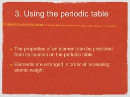 modern periodic table arrangement elements and the periodic table ppt video online download