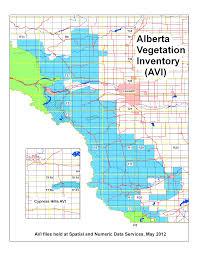 Calgary Map Vegetation Gis Resources Libguides At University Of Calgary