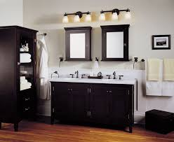 small pendant light fixture in a contemporary bathroom with small