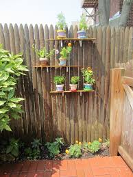 pot wall on our fence those