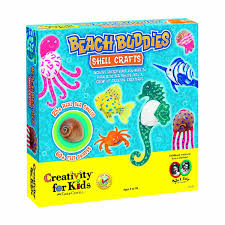 amazon com creativity for kids beach buddies shell crafts toys