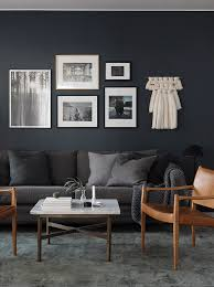 Gray And Beige Living Room by My Scandinavian Home Over To The Dark Side In A Swedish Space