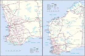 Driving Maps Maps Broome Kimberley And Pilbara Australia S North West With