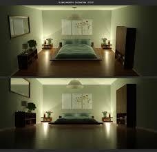 green bedroom design fujizaki