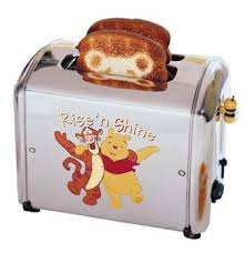 Toaster Face Mickey Mouse Series Wafflers And Toaster Authorized By Disney
