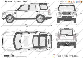 land rover lr4 white the blueprints com vector drawing land rover discovery 4 lr4