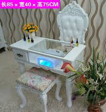 Used Studio Desk For Sale Nail Salon Furniture Cheap Manicure Table With Gel Lamp Nails