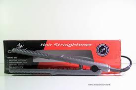 Catok Uap catokan de rucci 2in1 professional hair straightener nitaskincare