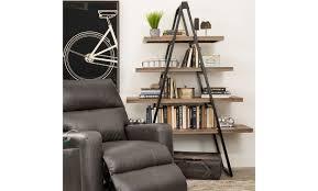triangluar ladder shelf schneiderman u0027s furniture minneapolis