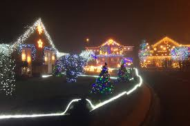 stunning display of 100 000 twinkling christmas lights has been