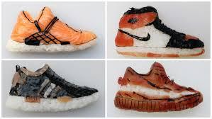 the art of u201cshoe shi u201d shoe shaped sushi creators