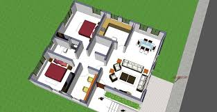 indian small house plans with large rooms best house design