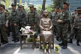 Japanese Comfort Women Stories Glendale Statue Remembers Korean