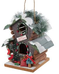 wooden birdhouse ornament traditional ornaments by