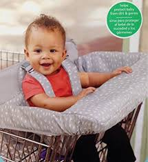 High Chair For Infants Amazon Com Shopping Cart High Chair Cover For Infants And