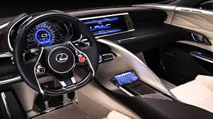 lexus interior 2012 car interior 2012 lexus lf lc blue hybrid concept 500 hp youtube
