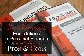 the unlikely homeschool dave ramsey u0027s foundations in personal