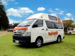 toyota motorhome kuga campervan hire australia travellers autobarn
