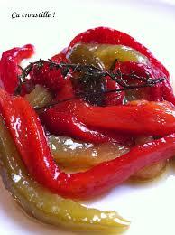 comment cuisiner les poivrons rouges ça croustille poivrons confits