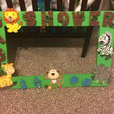 baby shower frames find more safari baby shower photo prop frame for sale at up to 90