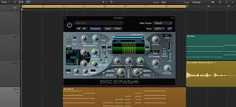logic pro x how to get the classic vocoder singing synth effect