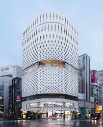 nissan japan headquarters ginza place a new stunning building u0026 façade made from 5315