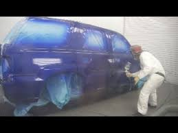 dripping wet candy blue cadillac escalade fresh out of the booth