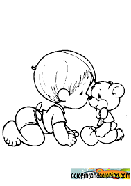 precious moments baby coloring pages kleurplaten 10582