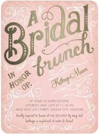 bridal luncheon invitations bridal brunch shower invitations marialonghi bridal shower