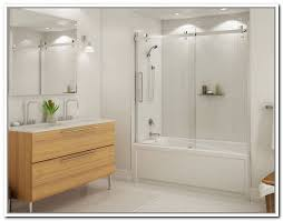 Frameless Shower Doors For Bathtubs Custom Frameless Shower Glass Doors Seattle Bellevue Issaquah Wa