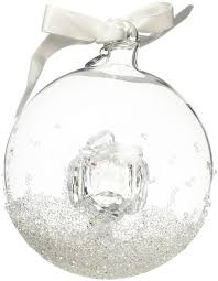 amazon com swarovski annual edition 2016 christmas ball ornament
