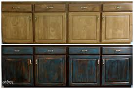 how to paint black distressed kitchen cabinets savae org