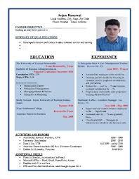 free resume formats sample format templates download masir