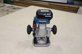 makita 18v lxt brushless compact router review xtr01z workshop