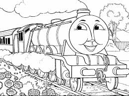 thomas tank engine coloring train pages free