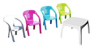 chaise de jardin enfant salon de jardin enfants 1 table 4 chaises plastique shaf