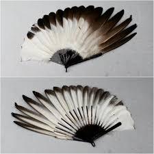 feather fan eagle feather fan circa 1910 fans