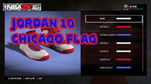 Chicagos Flag Jordan 10 Chicago Flag Youtube