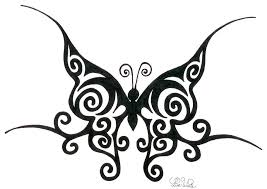 60 butterfly tattoos feminine and tribal butterfly tattoo