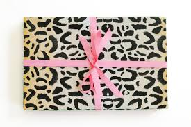cheetah print wrapping paper leopard print wrapping paper animal print gift wrap cheetah